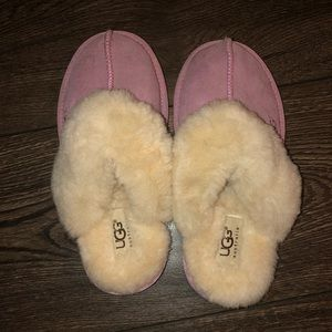 Kids Ugg slippers. Never worn